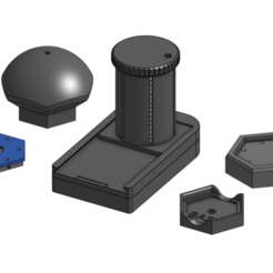 Robagon_BallBaseAssemblyTools.png Download free STL file Assembly Tools for Axolote Hex Magnetic Base Systems • Model to 3D print, RobagoN