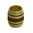 Download 3D model Rope Barrel for Gloomhaven - Multimaterial, RobagoN