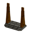3D printer models Wooden Door - Multimaterial, RobagoN