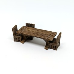 Robagon_Table.jpg Download STL file Table for Gloomhaven • Object to 3D print, RobagoN