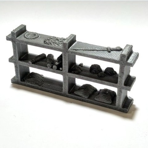 Download free 3D printer templates Shelf for Gloomhaven, Robagon3D