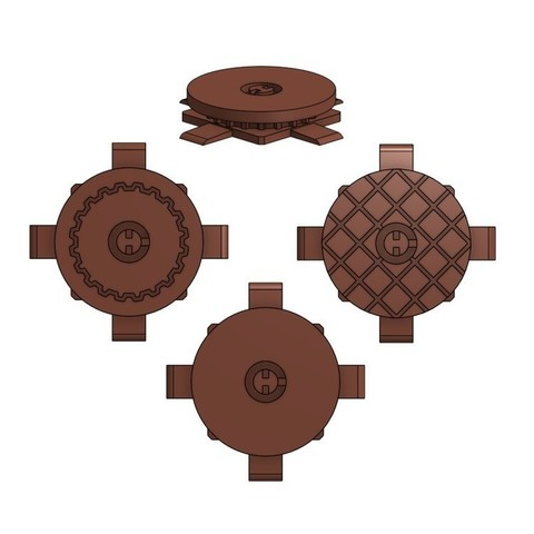 Download free 3D printing models Pressure Plate for Gloomhaven, RobagoN