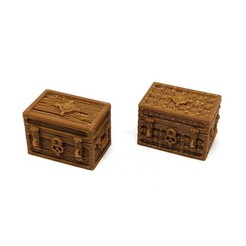 Download 3D printer templates Square Treasure Chests for Gloomhaven, RobagoN