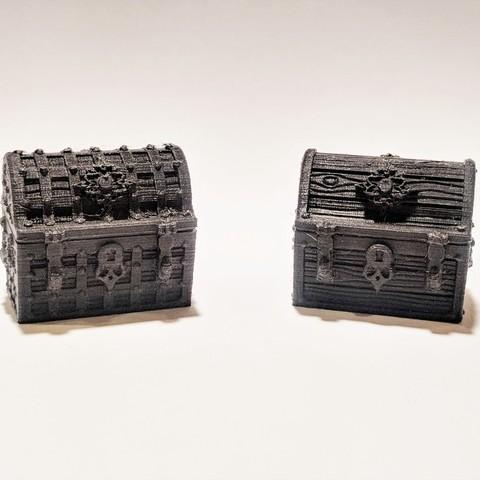 Télécharger fichier 3D Coffres au trésor pour Gloomhaven, RobagoN