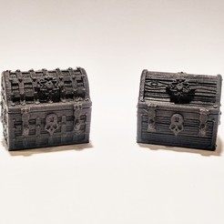 Download 3D printing files Treasure Chests for Gloomhaven, Robagon3D