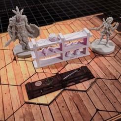 Free 3D printer designs Shelf for Gloomhaven (Remix), RobagoN