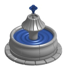Free STL files Fountain for Gloomhaven, RobagoN