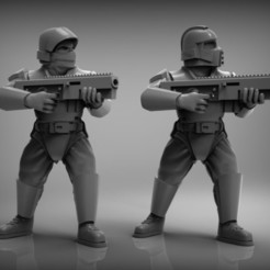 Download free STL prototype guard 28mm, BREXIT