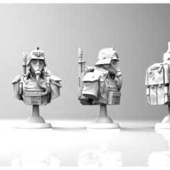 Download free 3D printer designs KRIEG BUST - 2000 follower reward!, BREXIT
