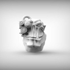 Download free 3D printing templates ork head, BREXIT