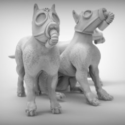 Download free 3D printing templates War dogs x3, BREXIT