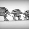 Download free 3D printer designs Orc mech, BREXIT