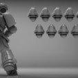 Descargar archivo 3D gratis cascos de ciencia ficción Knight - ¡gracias por los 1000 seguidores!, BREXIT