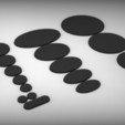 Télécharger fichier impression 3D gratuit Socles creux muraux de 2 mm, BREXIT