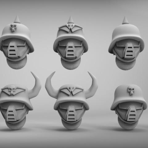Objet 3D gratuit collection de têtes impériales 1, BREXIT