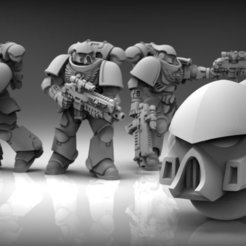 Download free 3D printer templates Marine Helmet, BREXIT