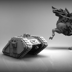 Download free STL file Sci-Fi Goliath tank, BREXIT