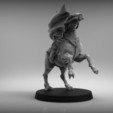 STL files Sci Fi Napoleon on horse, BREXIT