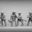 Free STL Starship trooper heads - heroic 28mm, BREXIT