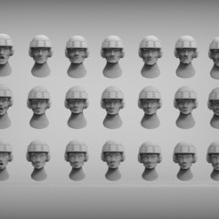 dd43a70d17c115e526f8fdbea8016322_display_large.jpg Download free STL file Starship trooper heads - heroic 28mm • 3D print design, BREXIT