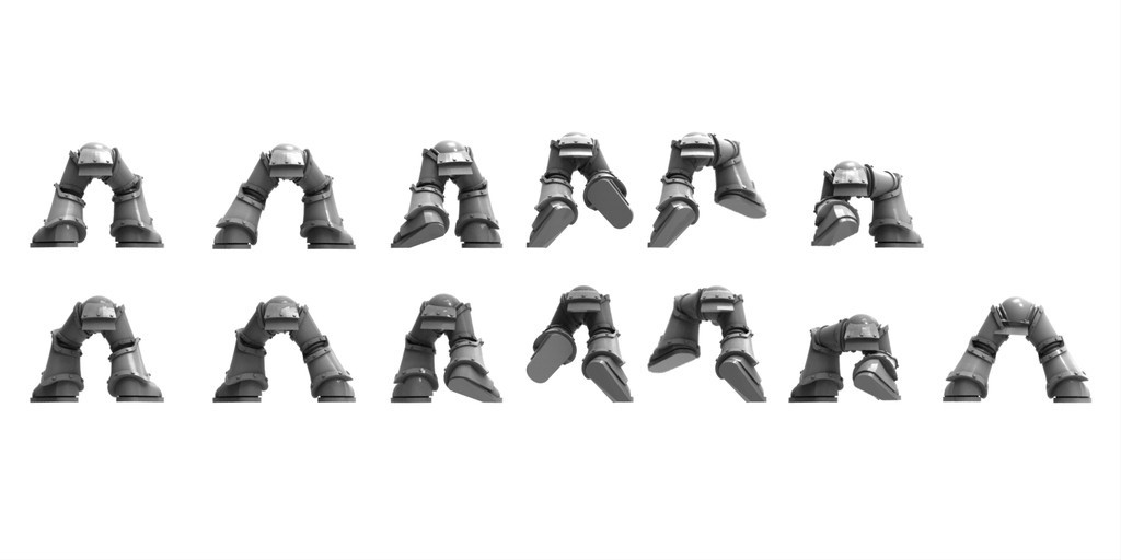 255142f79dc9c260f525b064d323e2e9_display_large.jpg Download free STL file 13 pairs of power armour legs 28mm • 3D printable object, BREXIT