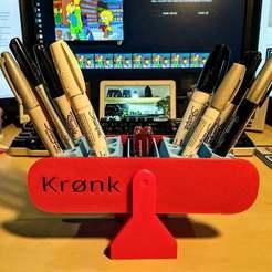 Download free STL Krønk, nullgel