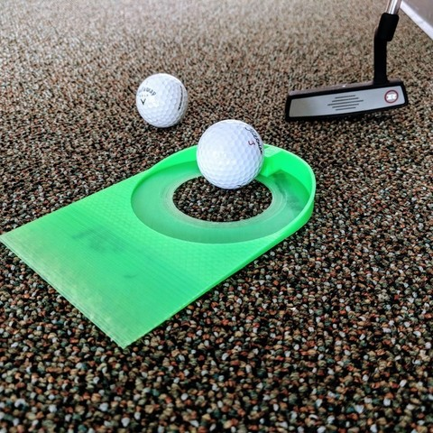 Free 3D print files Putting Practice Cup, nullgel