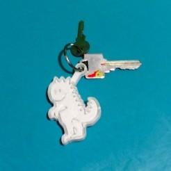 Fichier 3D gratuit Porte-clés Marko le dinosaure, RekiPa