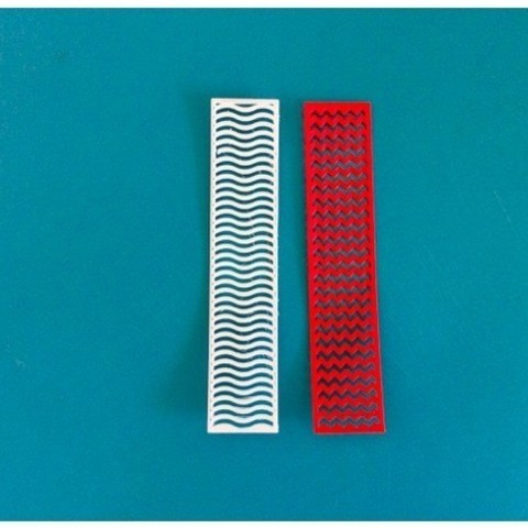 Download free STL file 3D printed Bookmarks • 3D printable object, RekiPa