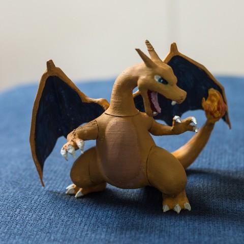 Download free 3D printing templates Charizard, KerberosFi