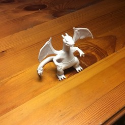 Download free 3D printing templates Charizard, KerberosFi