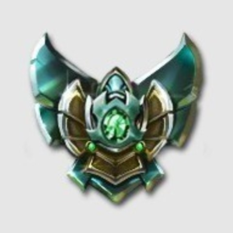 Download free 3D printer templates Platinum Badge League of Legends, KerberosFi