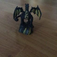 Descargar Modelos 3D para imprimir gratis Dragón, KerberosFi