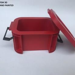 IMG_0555.JPG Télécharger fichier STL RC Mini boîte de rangement en plastique pour échelle 1:10 RC Accessoires pour chenilles à roche TRX4 Axial SCX10 90046 Décoration • Plan pour imprimante 3D, prashansiriwardhana