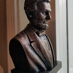 Download free STL file Abraham Lincoln Bust, cody5