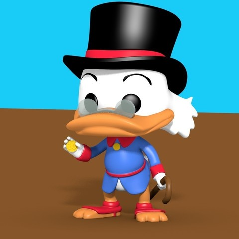 Download free STL file Scrooge McDuck, cody5