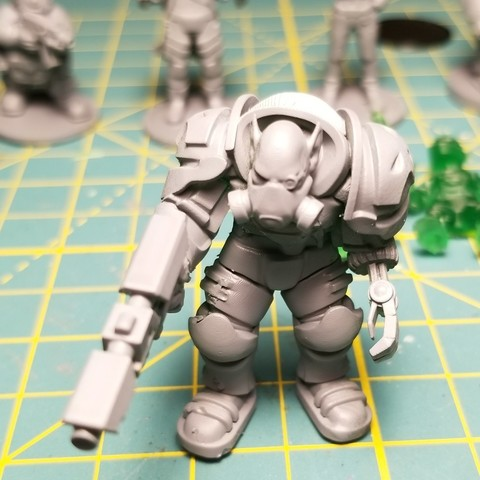 Download free 3D printer files Space Orc, cody5