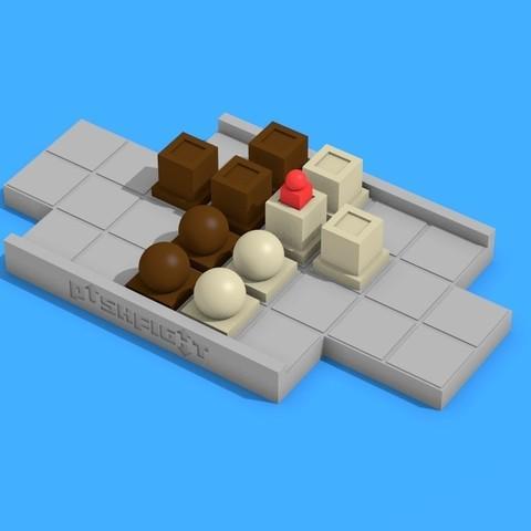 Free 3D printer model Pushfight, cody5