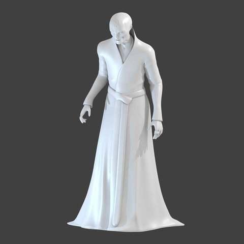 Imprimir en 3D gratis Snoke, cody5