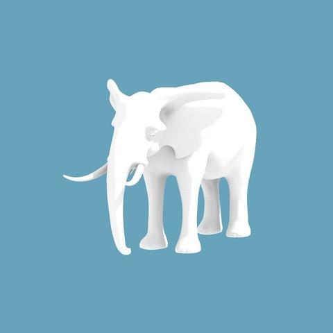 Descargar archivos STL gratis Elefante, cody5