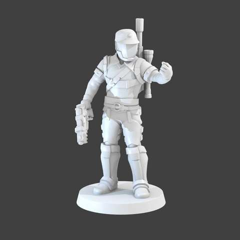 Download free 3D printer model Imperial Agent, cody5