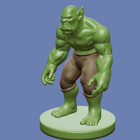 Download free 3D printing files Orc, cody5
