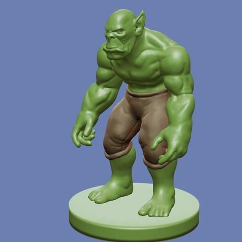 Télécharger plan imprimante 3D gatuit Orc, cody5