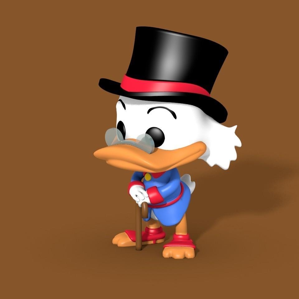 50c21ccfc06e5ed03c0b2faa5881e869_display_large.jpg Download free STL file Scrooge McDuck • 3D printer model, cody5
