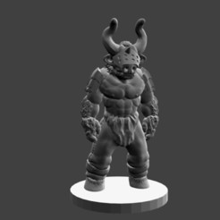 Download free STL file Minotaur Variant 1, cody5