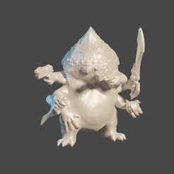 Download free 3D printing models Combat Skittermander (Starfinder), cody5