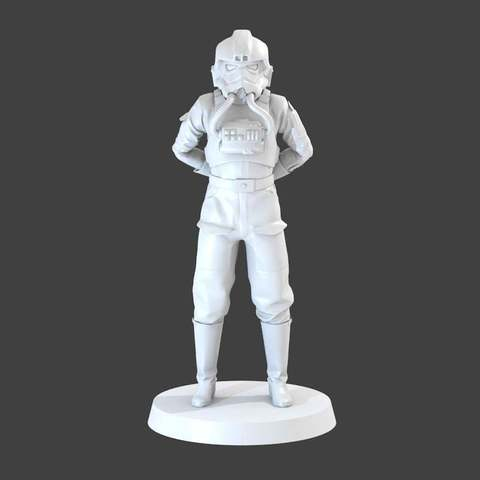 Download free 3D printer model Tie Pilot, cody5