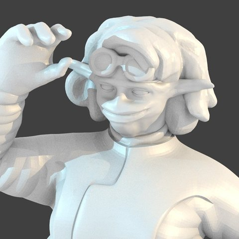Download free 3D printer files Besalisk Female, cody5