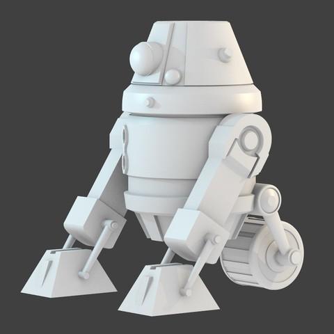 Télécharger fichier STL gratuit Astromécanique Sith, cody5