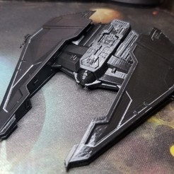 Download free 3D printer templates SWTOR Ship, cody5